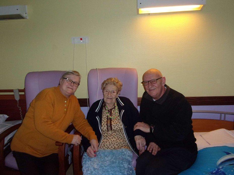 101 ans soeur Auber