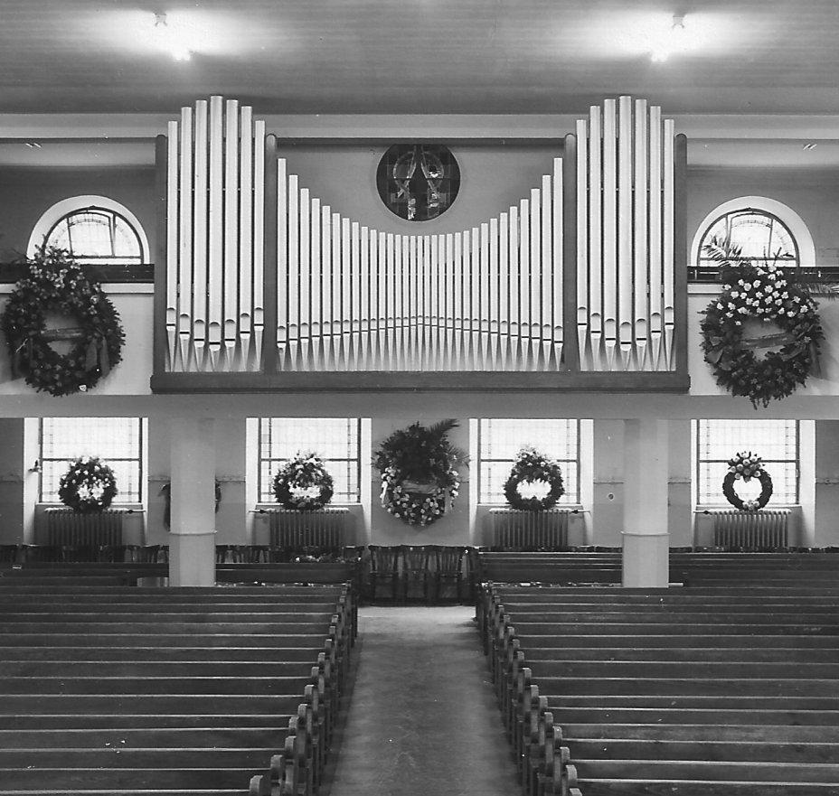 Orgue 1 Roethinger 1950 à 1969