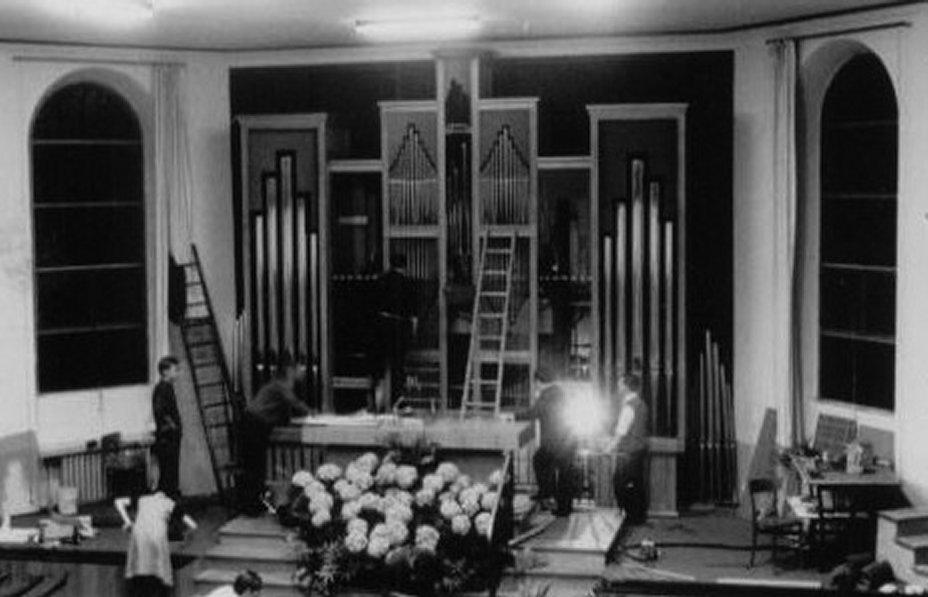 orgue 3 chantier