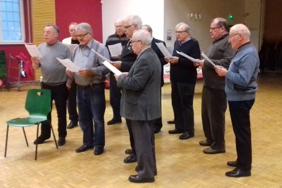 Rencontre de l'Avent Chor Hommes