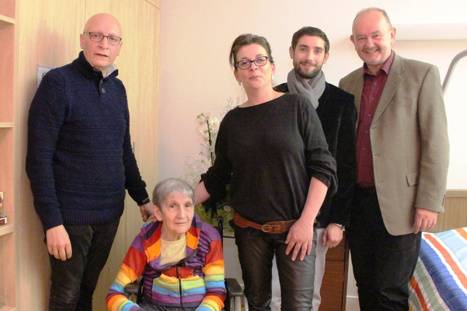 Angèle Hibst 80 ans